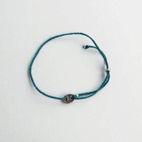 signuture, bracelet (deep blue )