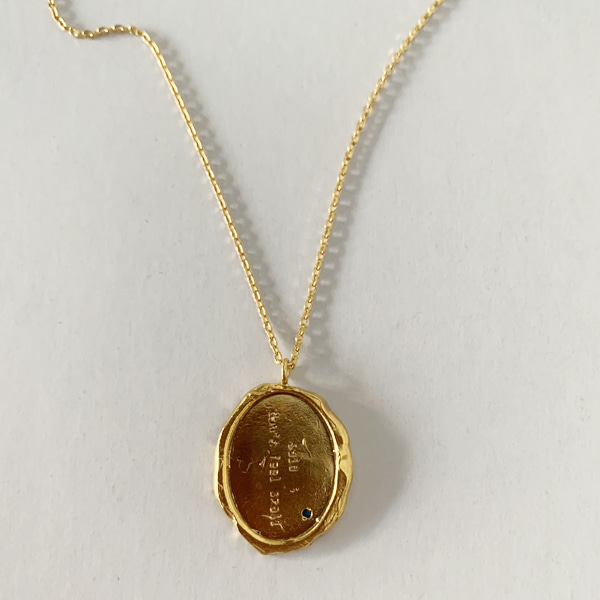 said; necklace ( gold-plated ver.)