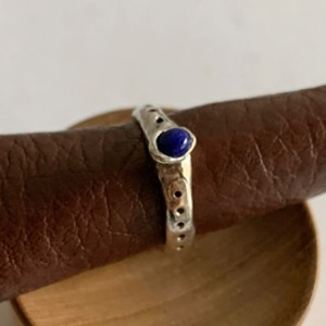 little , blue ring