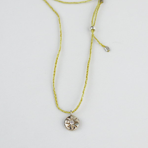 small star , necklace